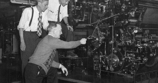 Produksjonsutstyr i gamle dager