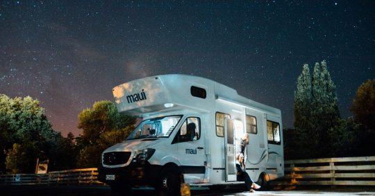 Campingvogn er et flott transportmiddel